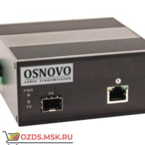 Osnovo OMC-1000-11HXI: Медиаконвертер