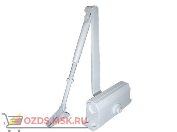 Falcon Eye FE-B4W. литой, цвет белый: Доводчик на дверь весом 65-85 кг