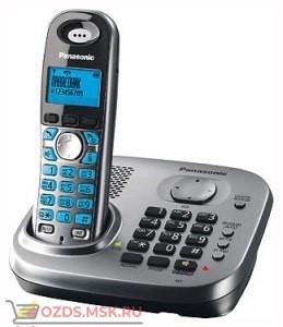 KX-TG7331RUM-, цвет серый металлик: Беспроводной телефон Panasonic DECT (радиотелефон)