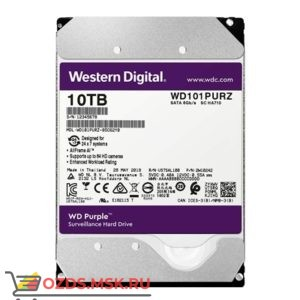 Western Digital WD101PURZ HDD 10TB: Жесткий диск