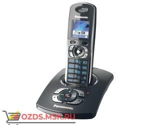 KX-TG8321RUT, цвет темно-серы: Беспроводной телефон Panasonic DECT (радиотелефон) с автоответчиком