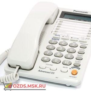 Panasonic KX-TS2368RUW 2-х линейный, цвет белый: Проводной телефон