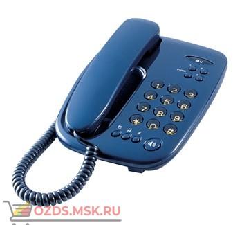 GS-480RUSUB LG проводной телефон, цвет синий: Проводной телефон