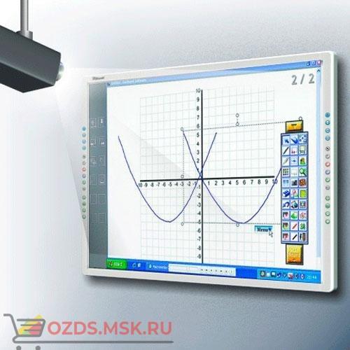 Интерактивная доска 80 IQBoard PS S080, резистивная технология, USB, RS232