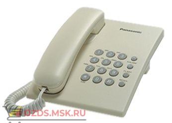Panasonic KX-TS2350RUJ-(цвет бежевый): Проводной телефон