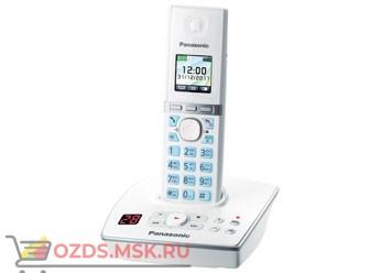 Panasonic KX-TG8061RUW - Беспроводной телефон DECT (радиотелефон) с автоответчиком, цвет белый