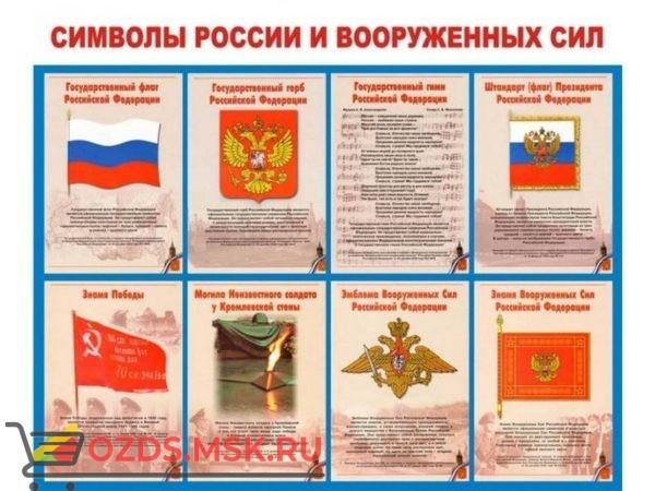 Символы России и Вооруженных Сил: Плакат