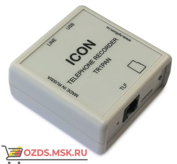 Устройство записи телефонных разговоров ICON TR1PAN