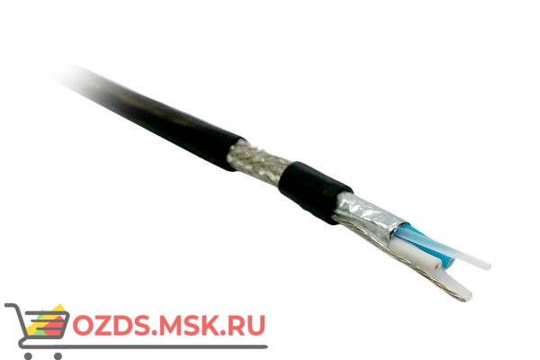 Hyperline RS-SF1-O-500 интерфейса RS-485, 1x2x22 AWG (0.76 мм7х0.254 мм), многопроволочные жилы (patch), SFUTP, 120 Ом, морозостойкий, внутреннийвнешний, PVC (UV), -55°C-+70°C, черный: Кабель
