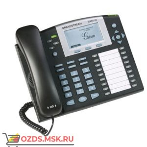 GXP-2110 Grandstream 2xEthernet 10100 Мбс, PoE, SIP, HD audio, БП: IP-телефон