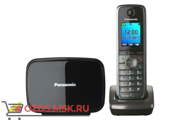 Panasonic KX-TG8611RUМ: Радиотелефон