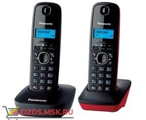 Panasonic KX-TG1612RU3-, цвет Серыйкрасный (RU3): Беспроводной телефон DECT (радиотелефон)