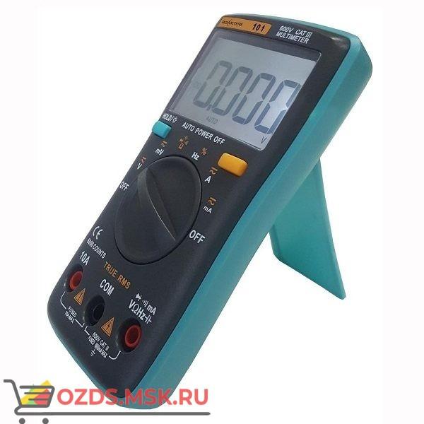RM101 Цифровой мультиметр, до 60 мОм, 1000 Вольт, 10 Ампер, питание батареи 2×1.5V AAA, подсветка