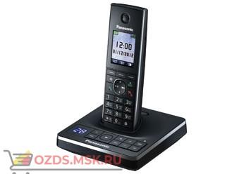 Panasonic KX-TG8561RUB - Беспроводной телефон DECT (радиотелефон) с автоответчиком, цвет черный