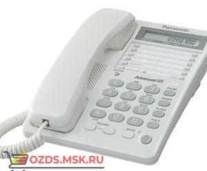 Panasonic KX-TS2362RUW проводной телефон, цвет белый: Проводной телефон