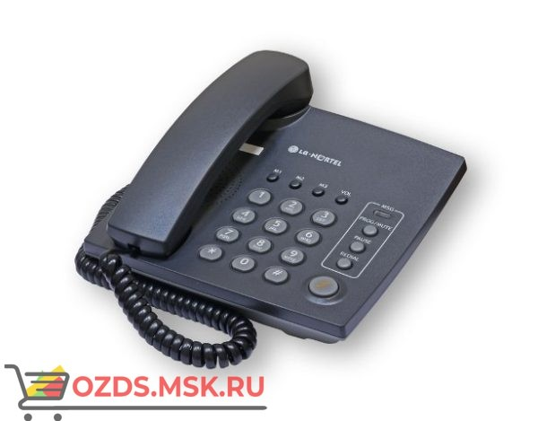 LKA-200BK LG проводной телефон, цвет черный