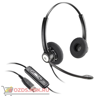 PL-C620M  Plantronics BlackWire USB: Профессиональная гарнитура