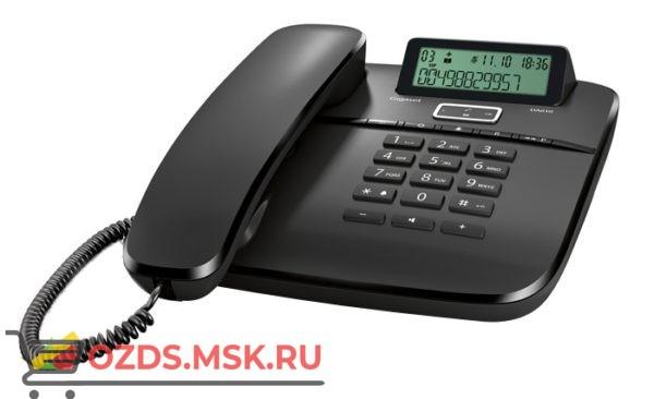 Gigaset DA610 IM Black Siemens, цвет черный: Проводной телефон