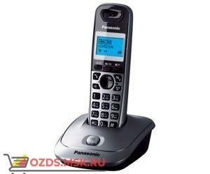 Panasonic KX-TG2511RUM-, цвет серый металлик: Беспроводной телефон DECT (радиотелефон)