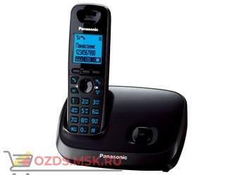 KX-TG6511RUT-, цвет темно-серый металлик: Беспроводной телефон Panasonic DECT (радиотелефон)