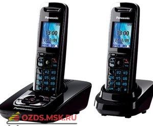 Panasonic KX-TG8422RUB — с автоответчиком, цвет черный: Беспроводной телефон DECT (радиотелефон)