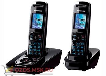 Panasonic KX-TG8422RUB-с автоответчиком, цвет черный: Беспроводной телефон DECT (радиотелефон)