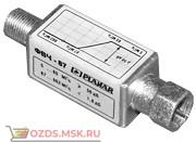 Планар ФНЧ-230L Полоса пропускания, МГц 5…230 Потери в полосе АЧХ, дБ0,5 Полоса заграждения,не более, МГц 360…862 Уровень заграждения, дБ 56