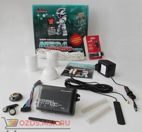 ZONT Mega SX-OEM Система охранной GSM-сигнализации Mega