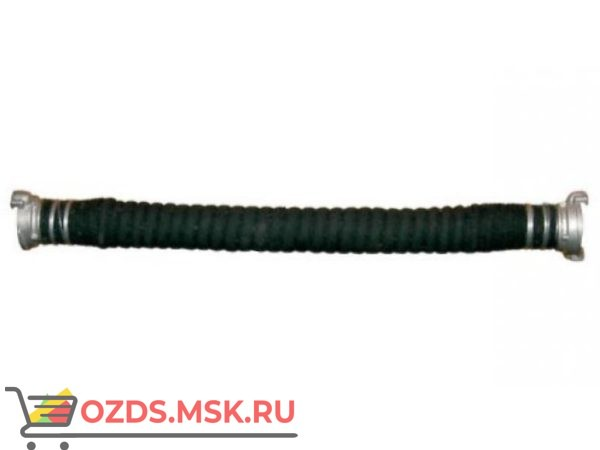 Рукав всасывающий диам. 125 мм с головками ГРВ-125 (4м)