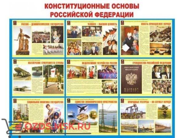 Конституционные основы Российской Федерации: Плакат