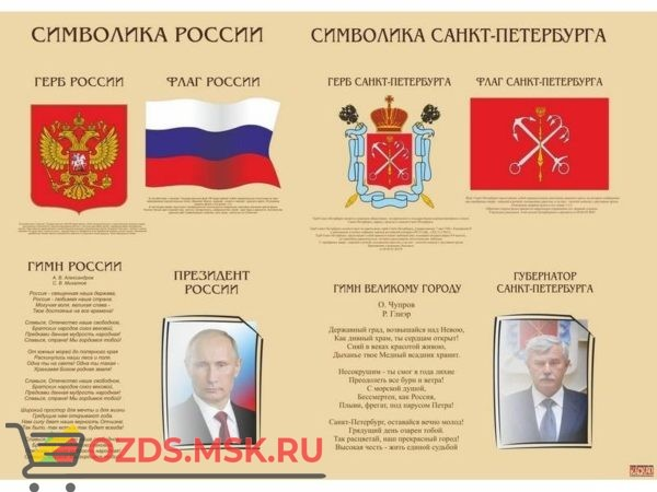 Символика РФ и СПб
