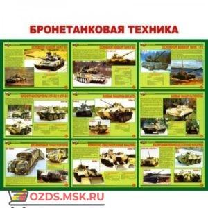 Бронетанковая техника: Плакат