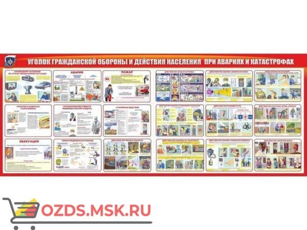 Комплект из 7 плакатов Организация подготовки и обучения по ГО и ЧС