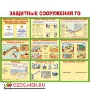 Защитные сооружения ГО: Плакат по безопасности