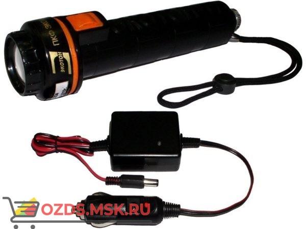 Экотон-17А (с автомобильным зу): Фонарик светодиодный аккумуляторный