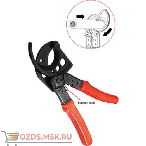 Ножницы секторные с храповым механизмом для обрезки кабеля (до 52 мм)