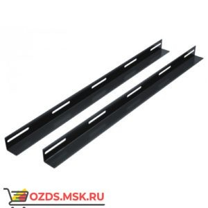 Направляющие (уголки) для шкафов гл. 600 мм, цвет-черный