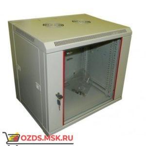 Шкаф телекоммуникационный настенный 12u 600х650 дверь стекло