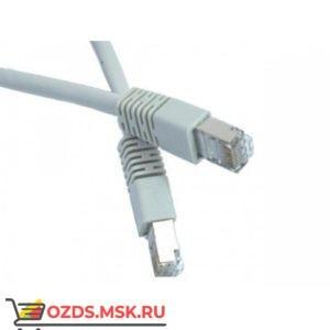 Патч-корд FTP 6 кат. литой 1.0 м СЕРЫЙ