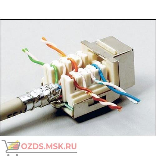 Модуль Keystone экранированный Кат.5e, RJ458P8C, 90°, без инструмента
