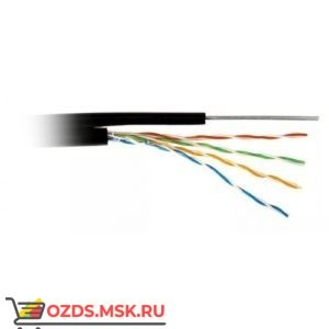 Кабель UTP 4PR 24AWG CAT5e 305м + ТРОС наружный Lan-Cable