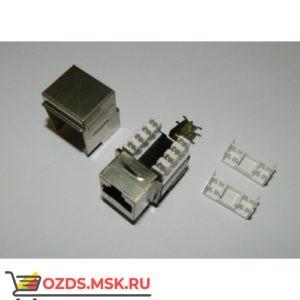 Модуль Keystone экранированный Кат.5e, RJ458P8C, 90°, тип заделки Dual IDC