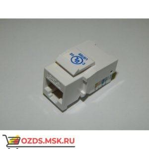 Модуль Keystone Кат.6, RJ458P8C, 90°, без инструмента