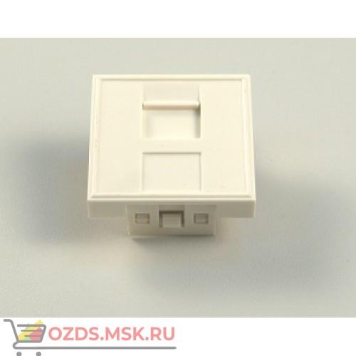 Вставка 1xRJ-45 KEYSTONE модуль 45х45