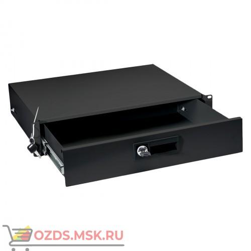 Ящик для документов 2U, цвет- черный