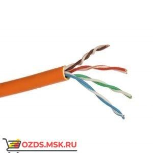 Кабель UTP 4PR 24AWG CAT5e 305м FRLS (оранжевый) Lan-Cable