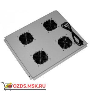 Модуль вентиляторный с 4 вентиляторами 600х1000, серый