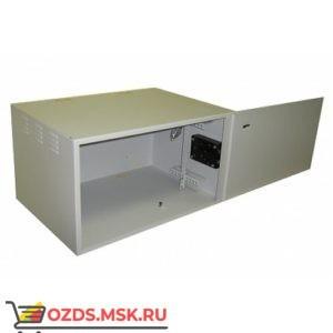 """Пенал под 19"""" оборудование-6U (В320 x Ш560 x Гл400)мм, цвет-белый, замок"""