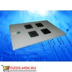 Модуль вентиляторный с 4 вентиляторами, серый, для шкафов гл. 600 мм