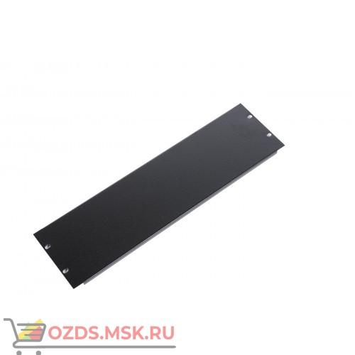 19 Панель заглушка 1U, черная
